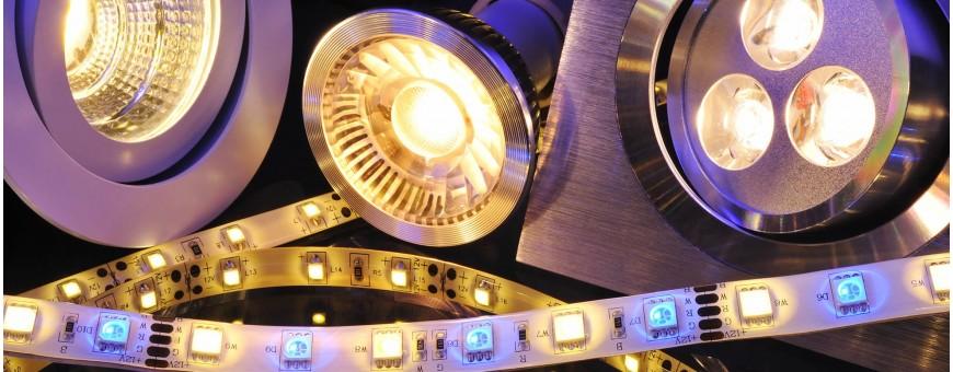 Ledlampen vervangen de meeste types halogeenlampen, gloeilampen en tl-buizen vervangen zonder verlies in lichtopbrengst en in lichtkleur